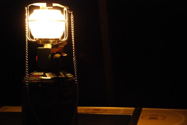 フロンティアPZランタンの光