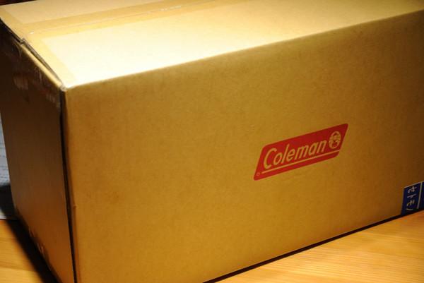 コールマンから荷物が・・・